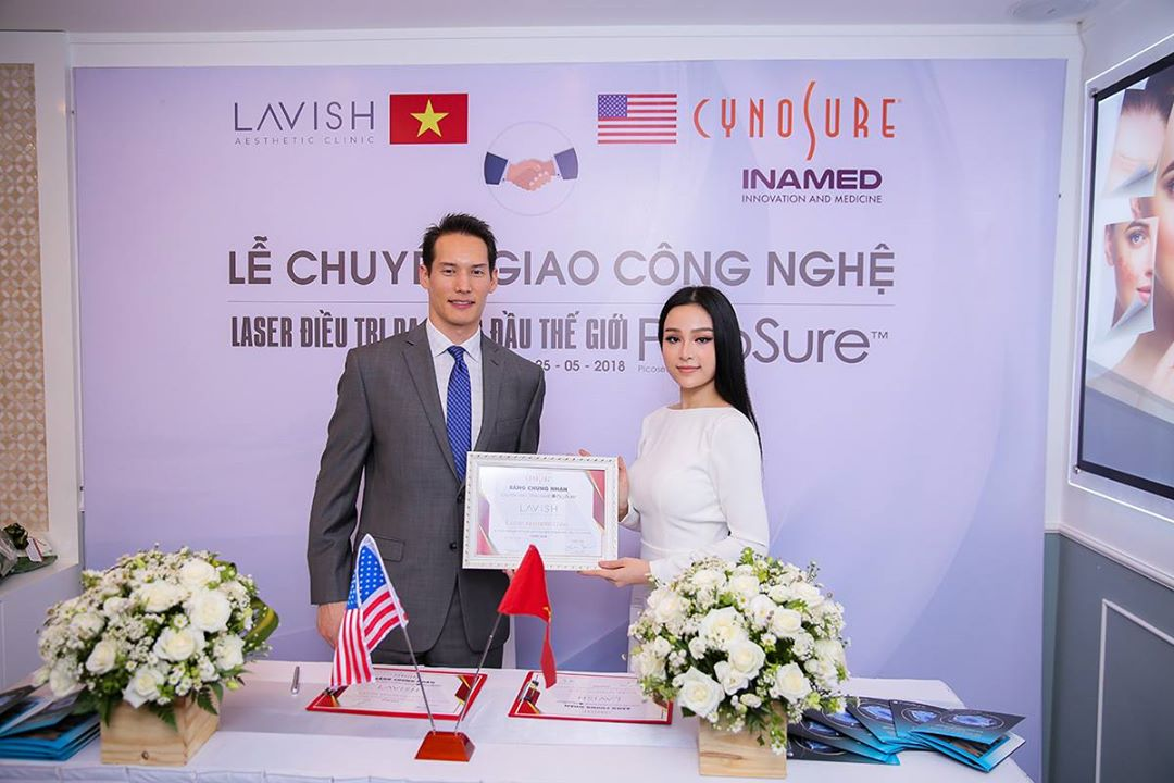 Lễ chuyển giao công nghệ Picosure cho Lavish Aesthetic Clinic
