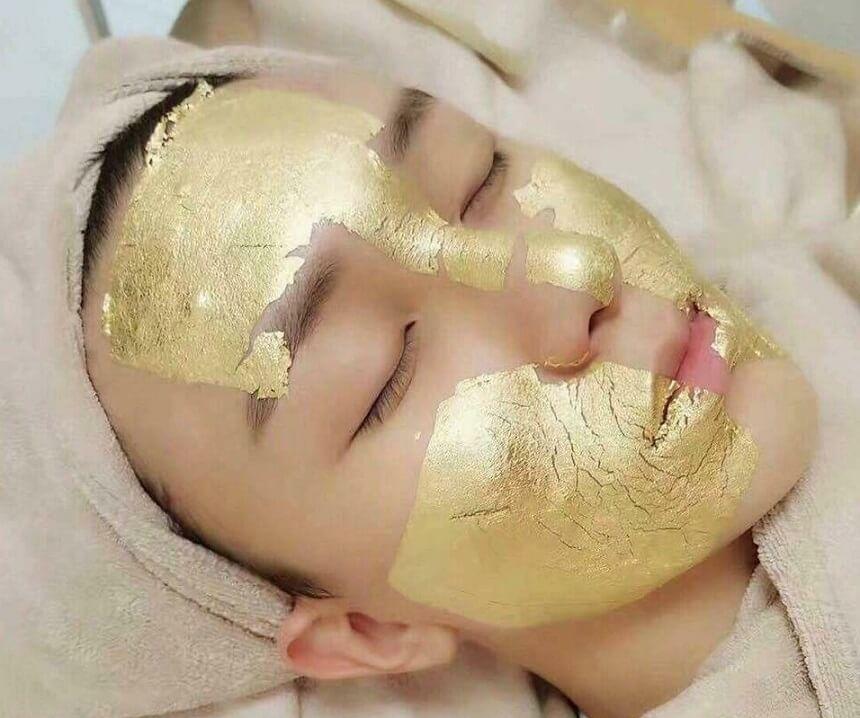 gold mask 24k lavish aesthetic clinic