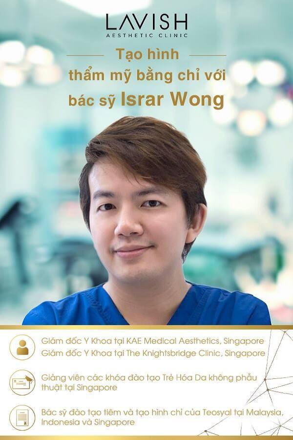 thông tin bác sỹ israr wong