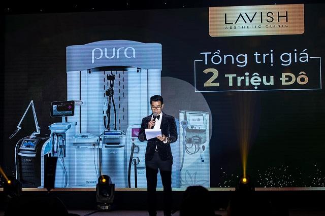 mc giới thiệu công nghệ của lavish clinic